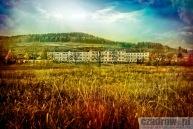 Widok na osiedle w Czadrowie, rok 2015
